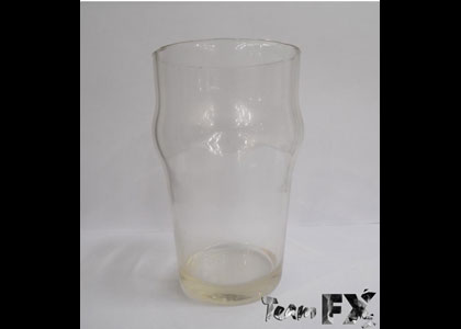FX Products/ 2017  Breakaway Half Pint Modern Beer Glass