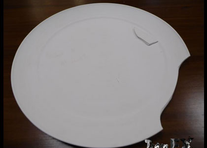 FX Products/ 2017  Breakaway Dinner Plate
